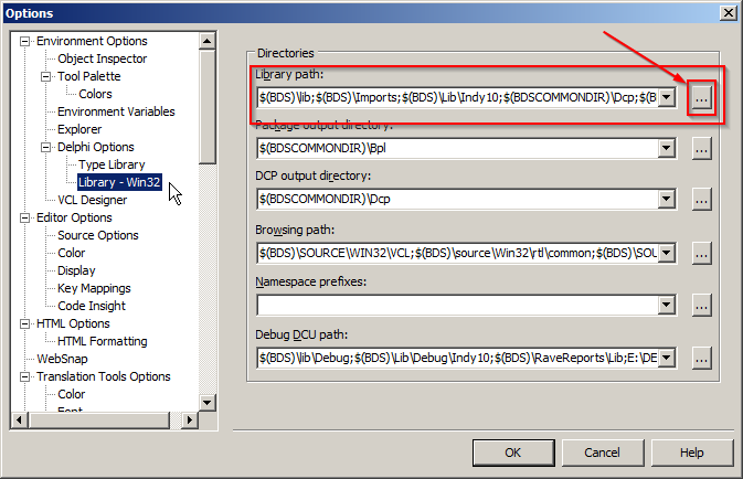 Fajar Priyadi: Install Zeos DBO (7 0 0-alpha) di Delphi 2010 ala
